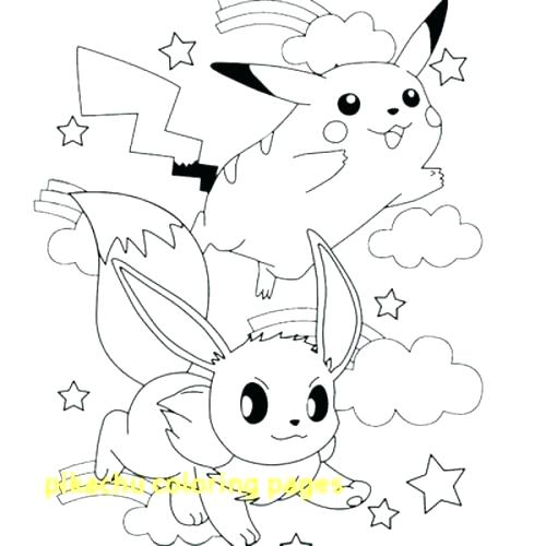 500x500 Pikachu Coloring Picture Coloring Page Coloring Pages
