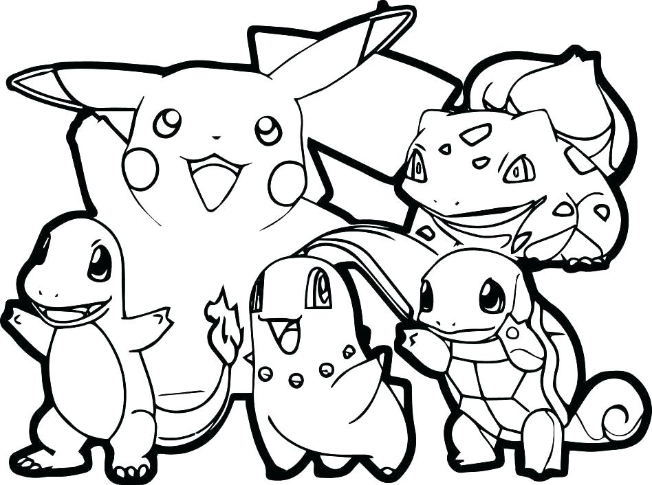 948x706 Pokemon Coloring Pages Pikachu Coloring Pages Color Pages