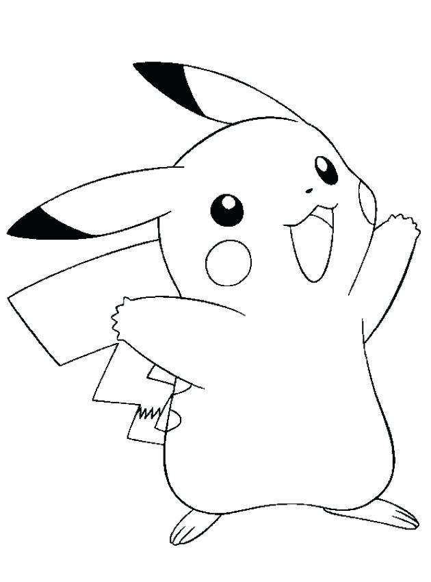630x850 Pokemon Pikachu Coloring Pages Coloring Page Pokemon Pikachu