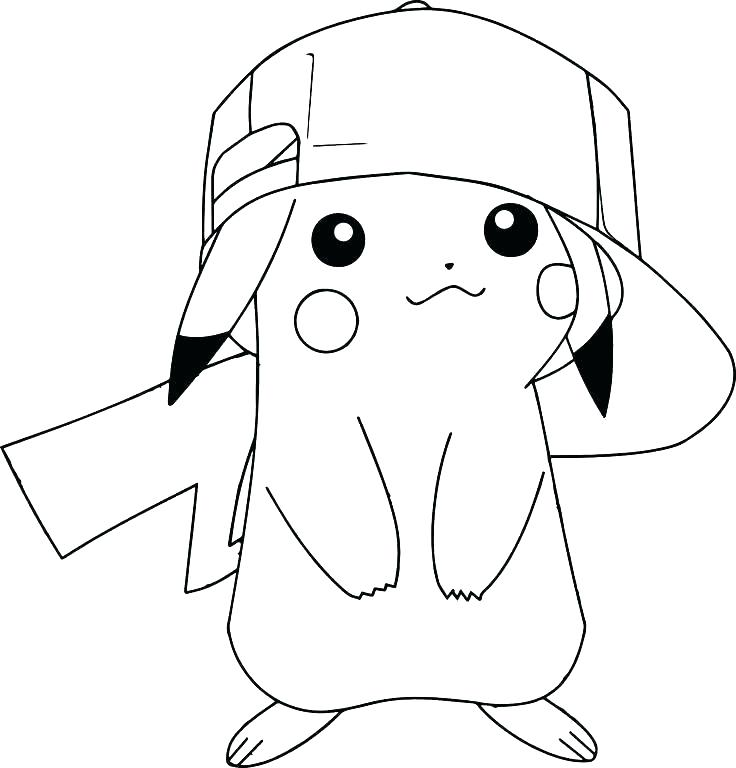 736x768 Picachu Coloring Pages Entertaining Coloring Pages Print Coloring