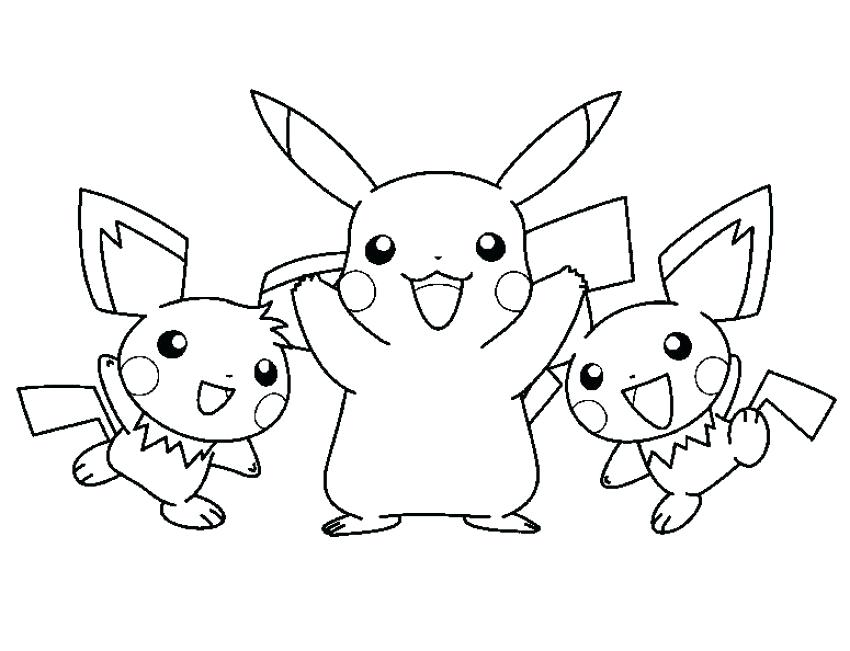 850x651 Pikachu Coloring Sheets Amusing Coloring Pages About Remodel Free