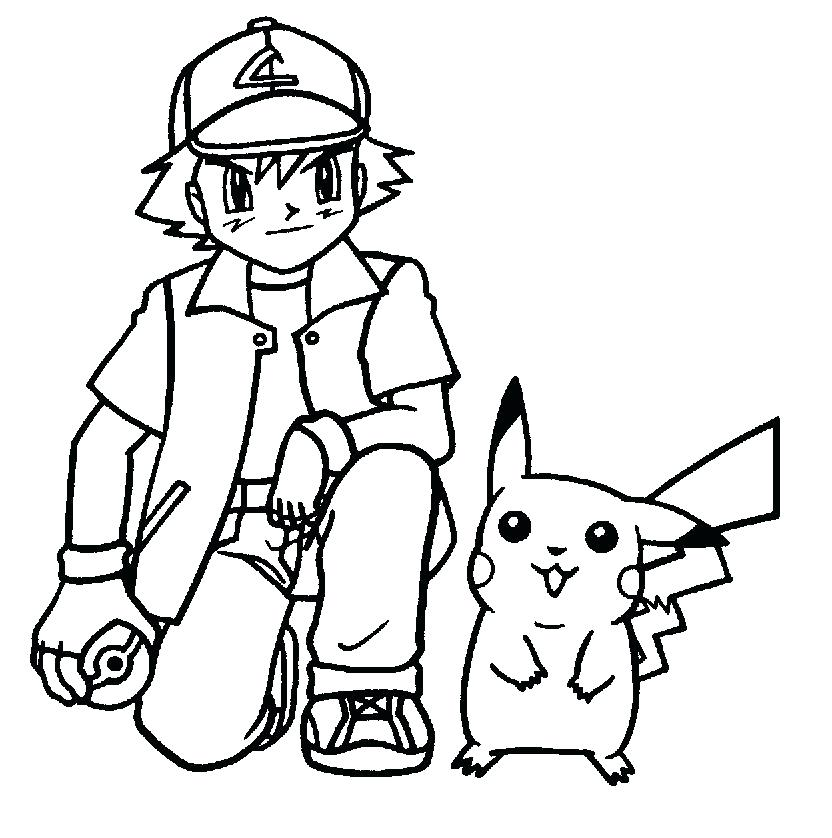 832x838 Pikachu Printable Coloring Pages Coloring Page Photos Pokemon