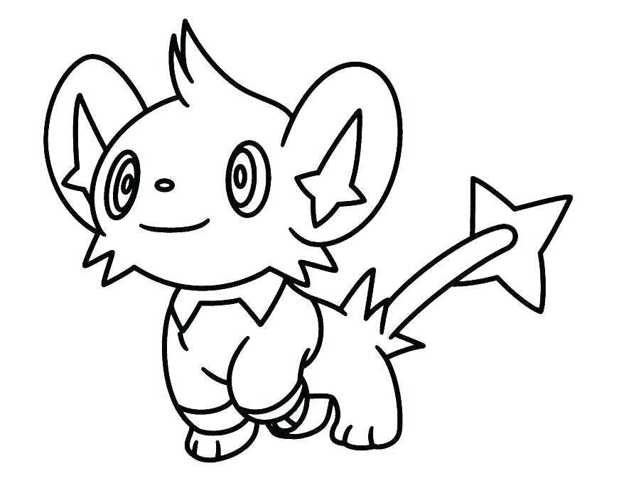 878x680 Pokemon Printable Coloring Pages