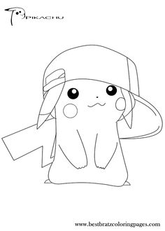236x330 Free Printable Pikachu Coloring Pages For Kids Coloring Pages
