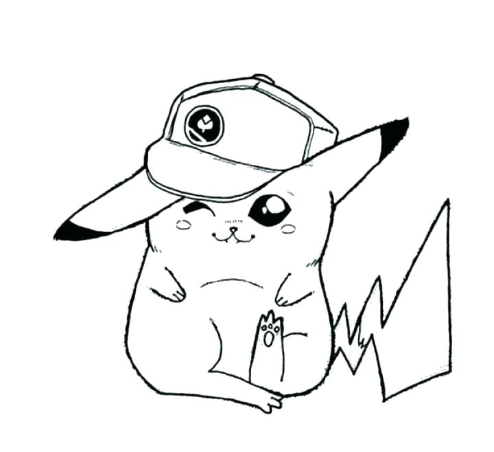 720x658 Pikachu Coloring Page Coloring Color Pages Coloring Pages Online