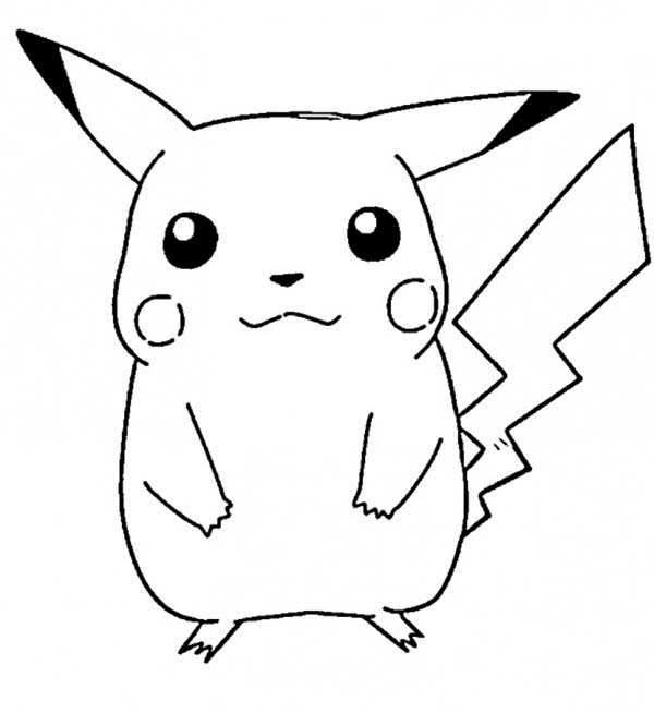 600x654 Coloring Pages Of Pikachu New Pictures To Print Coloring Pages