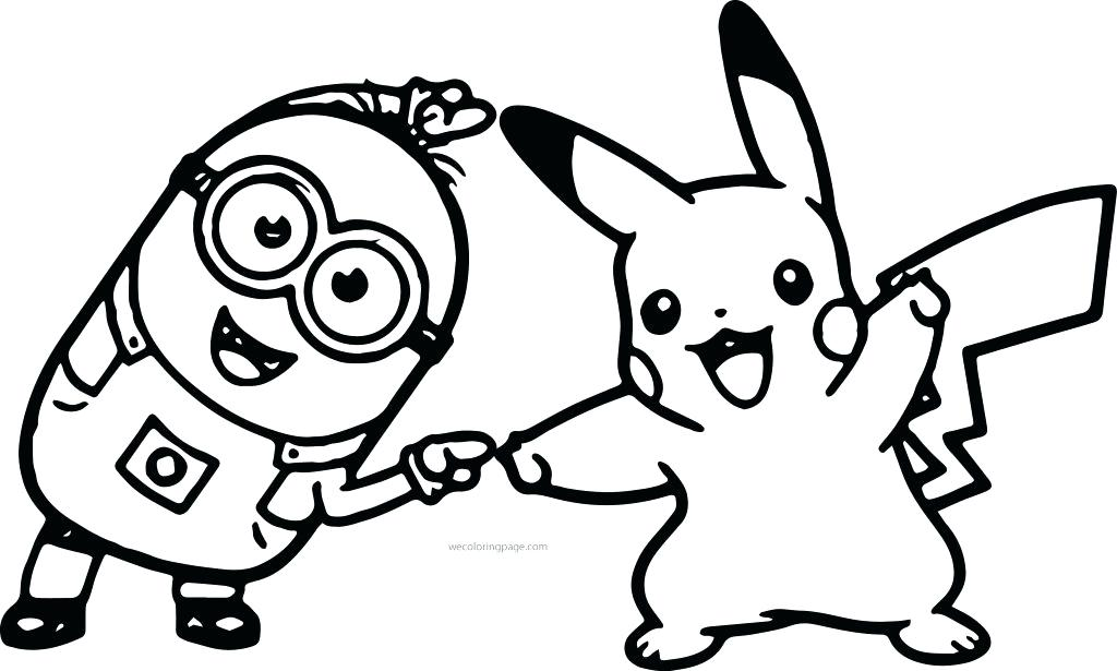 1024x615 Coloring Pages Of Pikachu