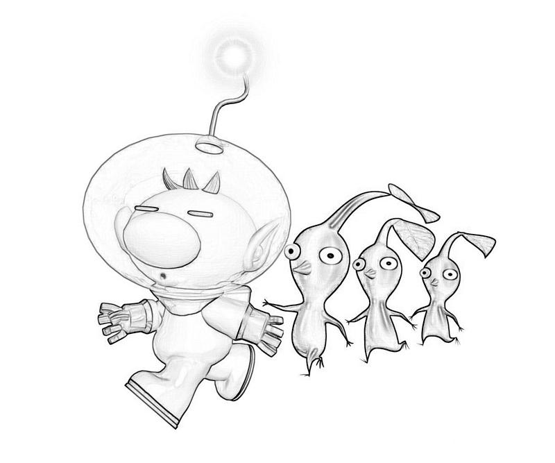 Pikmin Coloring Pages At Getdrawings Free Download