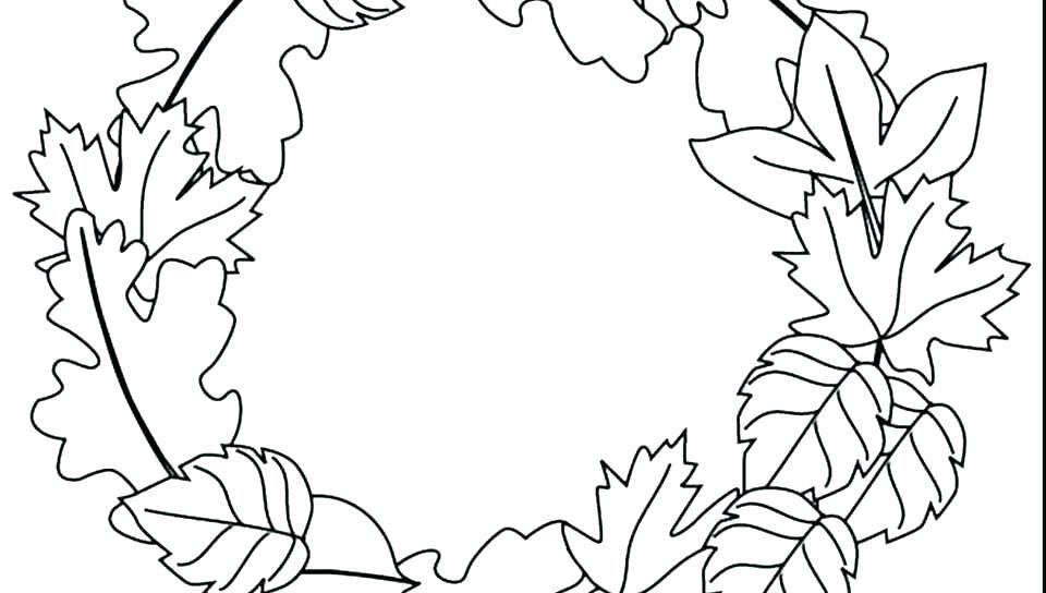 960x544 Coloring Pages Online Printable Free Fall Different Type Of Autumn