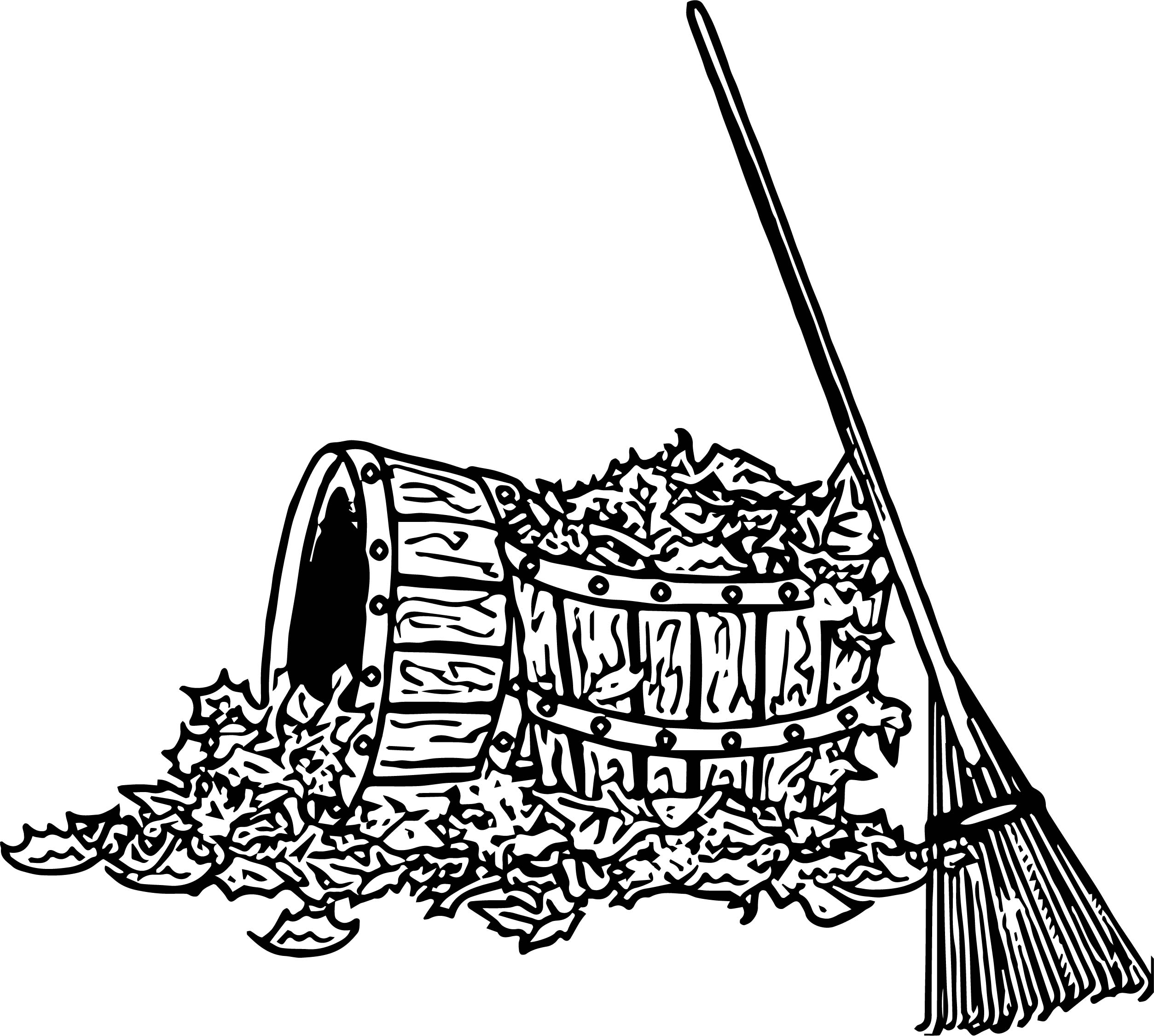 2507x2251 Archaicawful Pile Of Leaves Coloring Pages Special Fall And Acorn