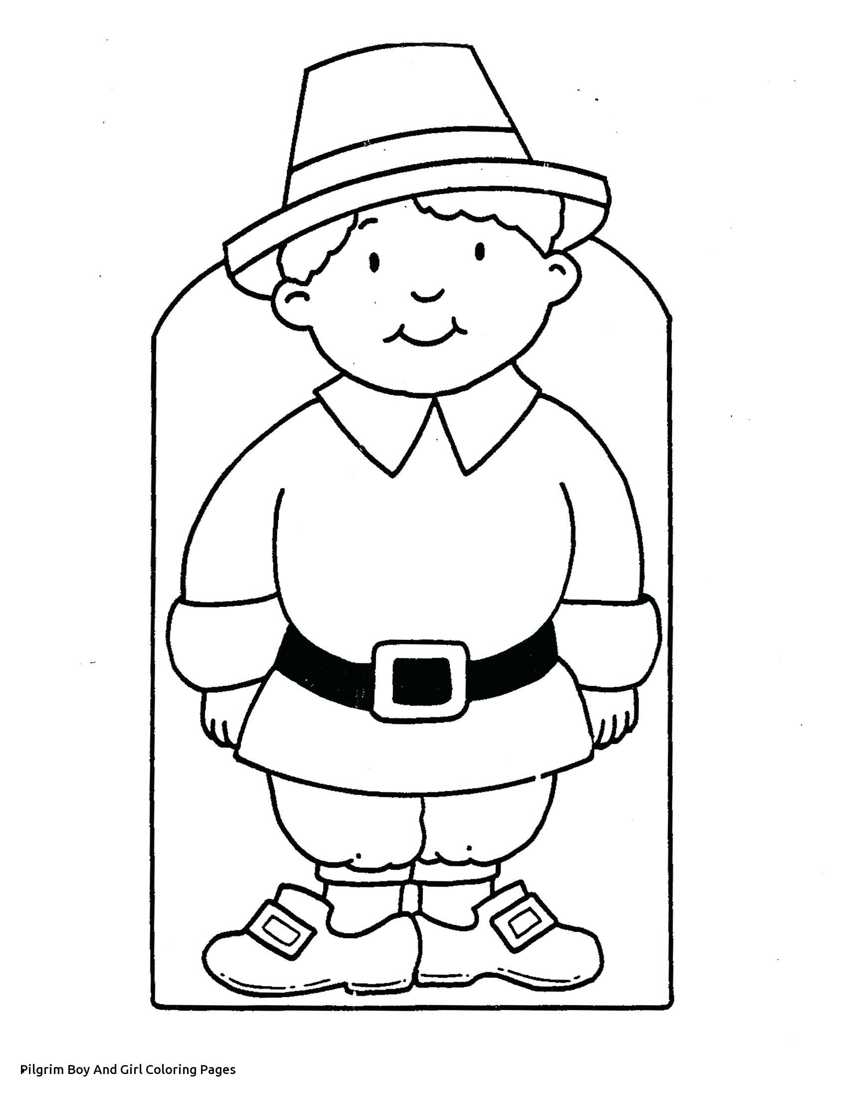 1700x2200 Boy Pilgrim Coloring Page Printable Pilgrims P