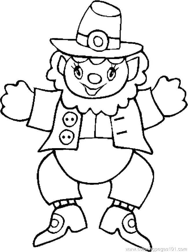 Pilgrim Hat Coloring Page At Getdrawings Com Free For Personal Use