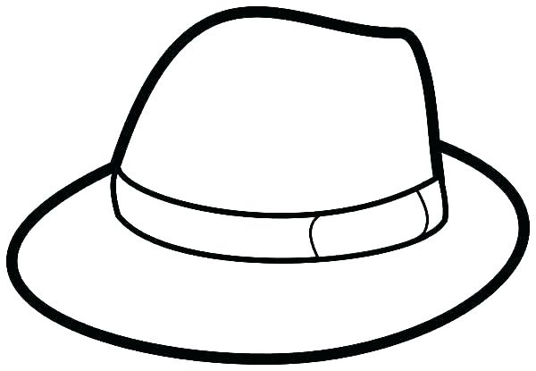 picture about Printable Pilgrim Hat identify Pilgrim Hat Coloring Webpage at  Absolutely free for
