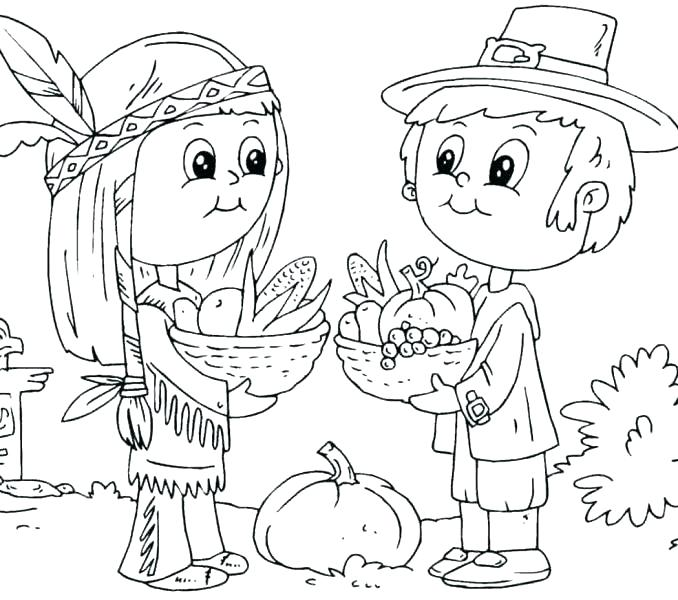 678x600 Complete Pilgrim Coloring Pages Free Download Complete