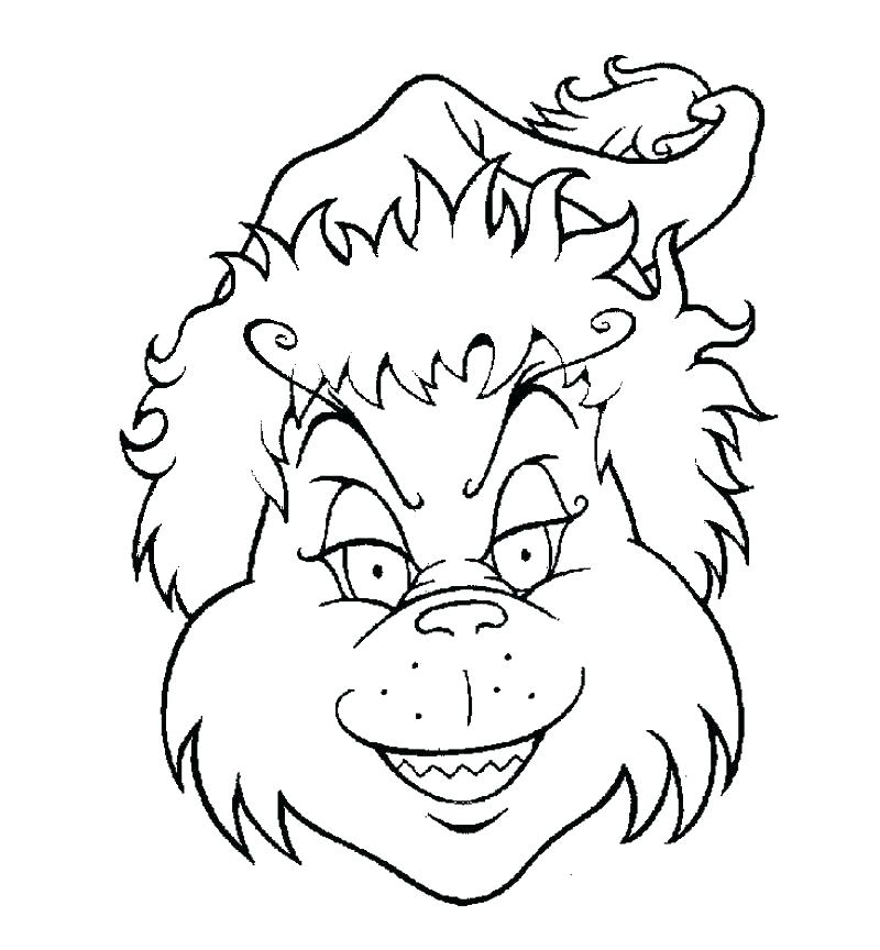 800x864 Grinch Coloring Pages Color Pages The Coloring Page Pages For Kids