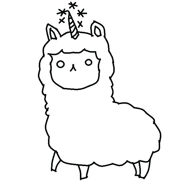 640x630 Llama Coloring Pages Llama Coloring Pages Find This Pin And More