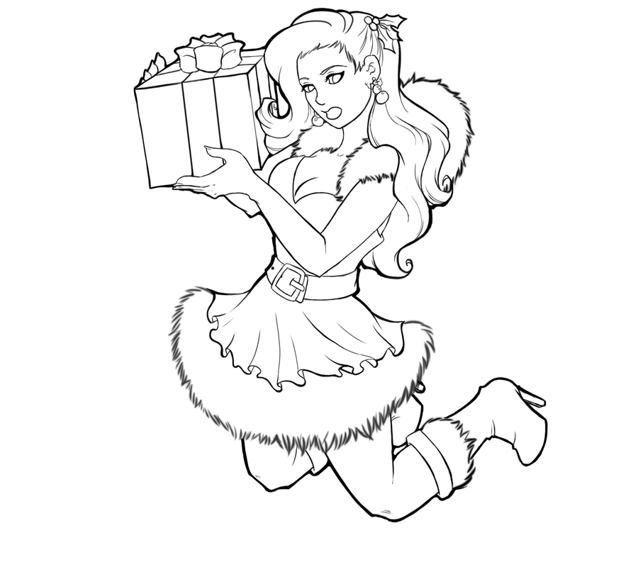 900x807 Pin Up Girl Coloring Pages