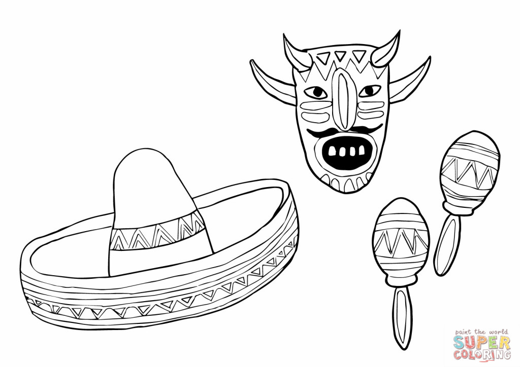1024x724 Pinata Coloring Page And Print These Pages