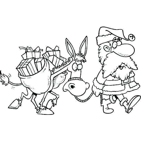 600x612 Pinata Coloring Page Pinata Coloring Page Walking With A Donkey