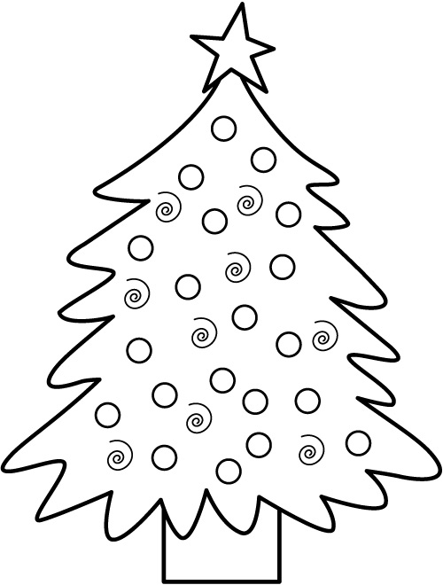 500x660 Kids Under Pine Trees Coloring Pages