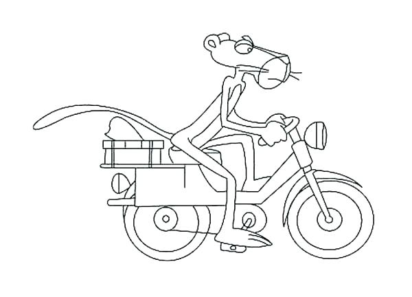 600x432 Pink Panther Coloring Pages Pink Panther Coloring Pages Free Pink