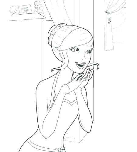 451x500 Coloring Page Barbie Coloring Pages Of Barbie Colouring To Good