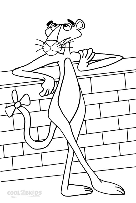 571x850 Pink Panther Coloring Printable Pink Panther Coloring Pages