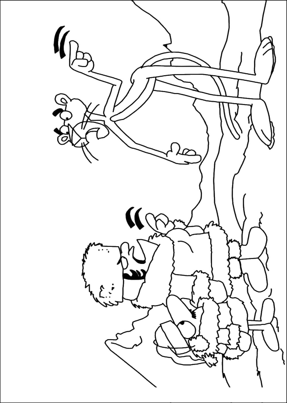 1000x1400 The Pink Panther Coloring Pages