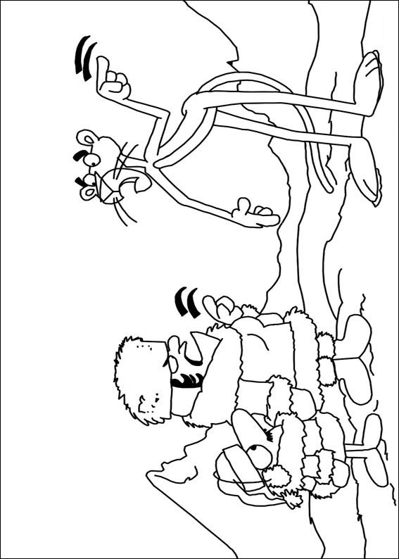 567x794 Kids N Coloring Pages Of Pink Panther