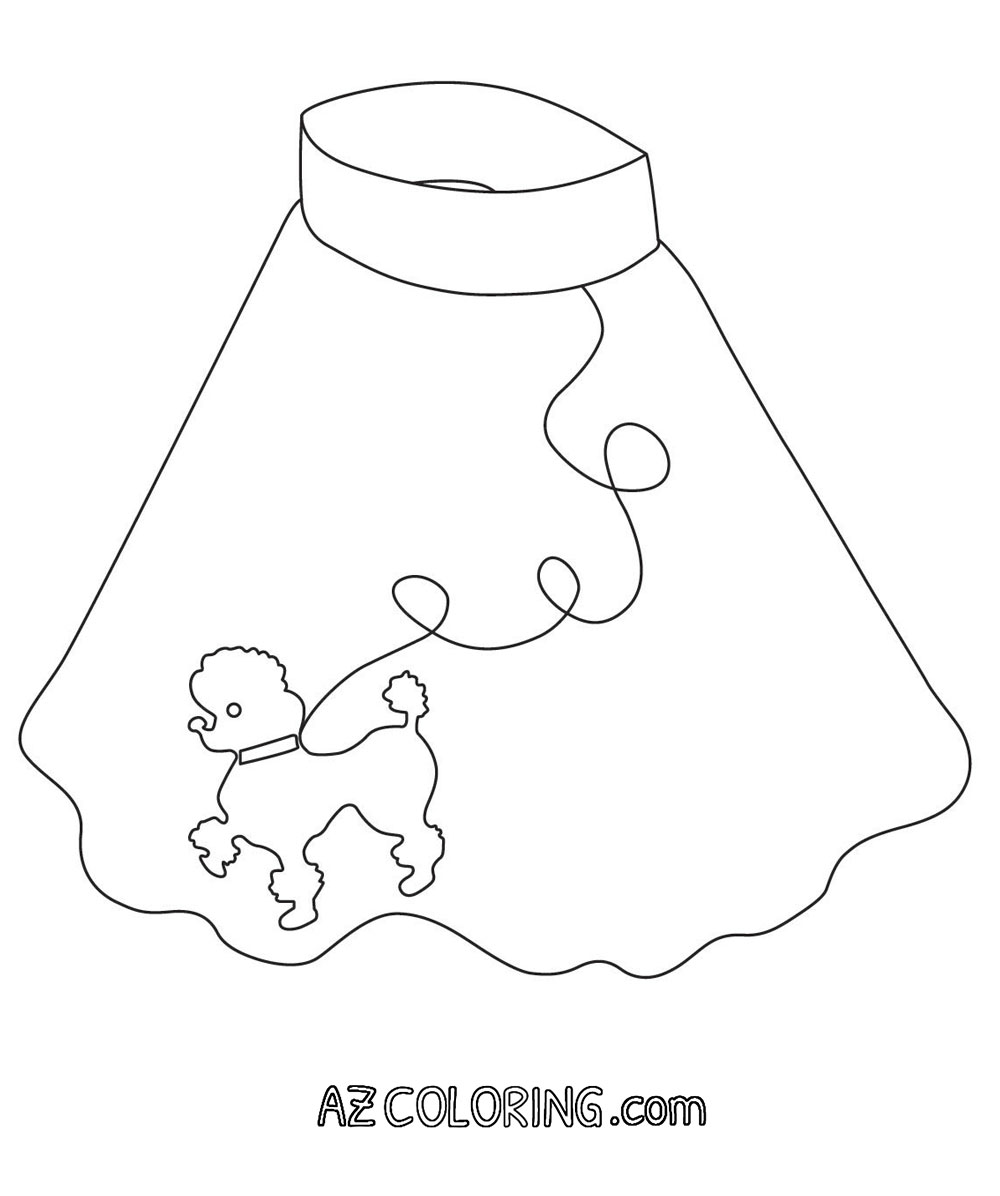1000x1196 Poodle Coloring Page Printable Pages And Butterfly Standard Animal