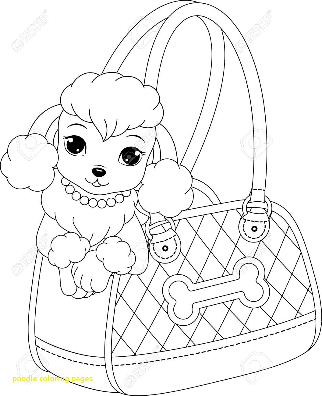 1057x1300 Poodle Coloring Pages With Realistic Poodle Coloring Pages Sketch
