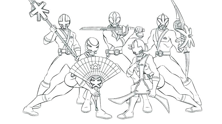 770x430 Power Ranger Coloring Page Power Rangers Coloring Pages Ninja