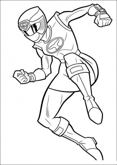 374x525 Power Rangers Coloring Pages Red Ranger Best Power Rangers