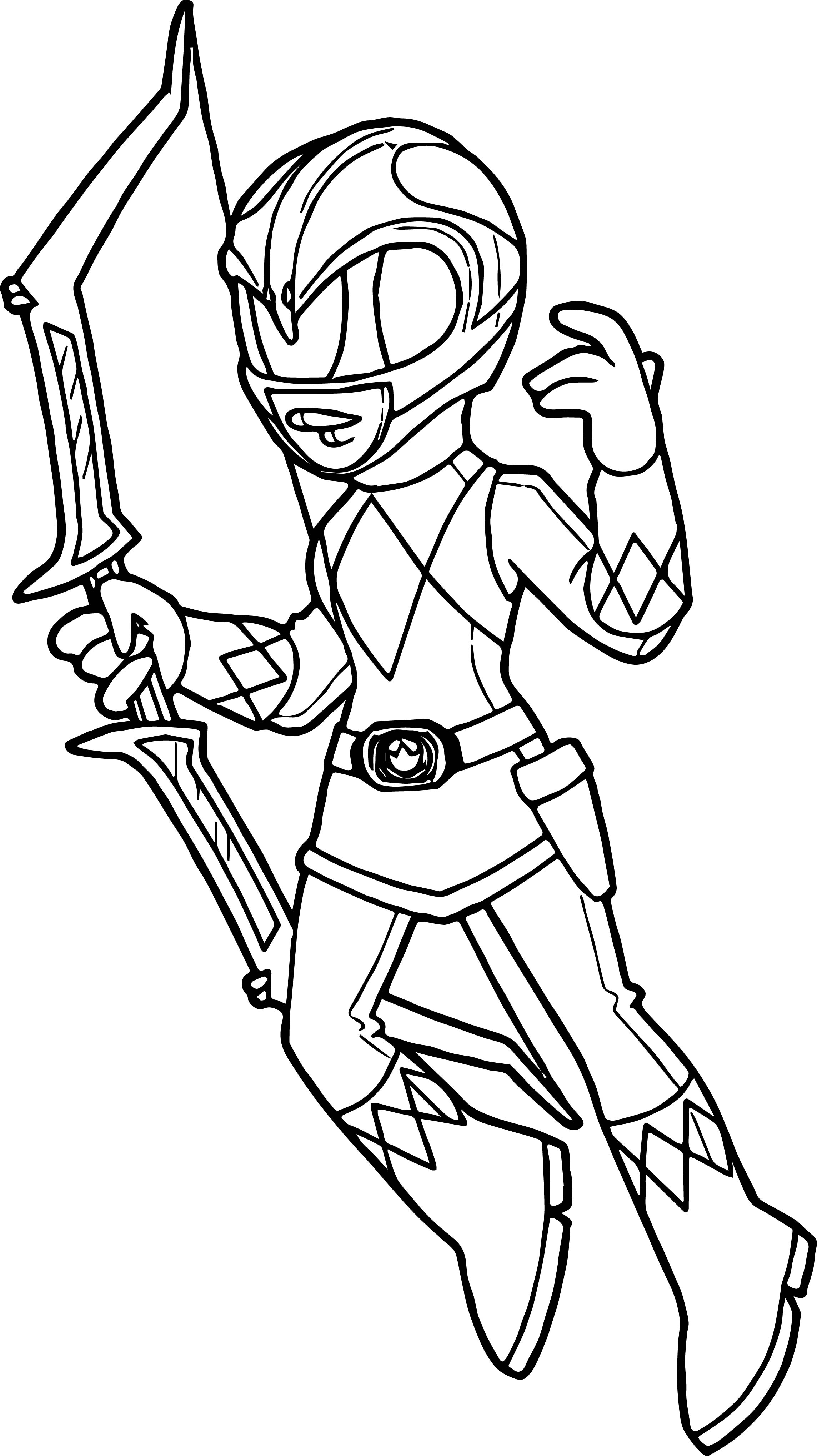 2288x4076 Power Rangers Pink Ranger Coloring Page Wecoloringpage At Pages