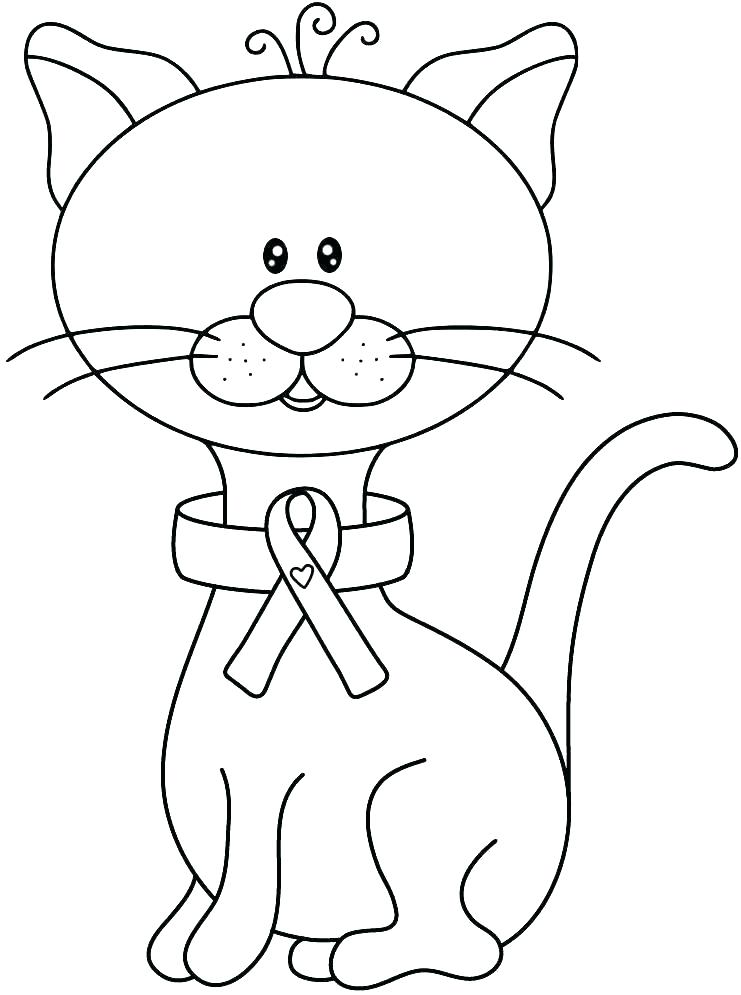 741x995 Cancer Ribbon Coloring Page Breast Cancer Ribbon Coloring Pages