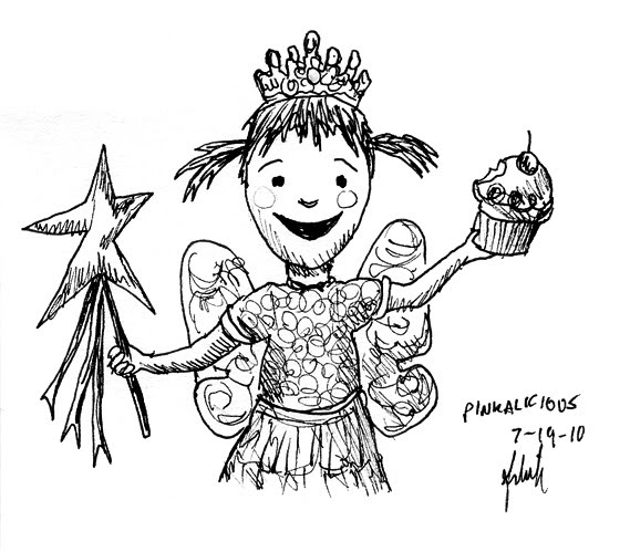 The best free Pinkalicious coloring page images. Download ...