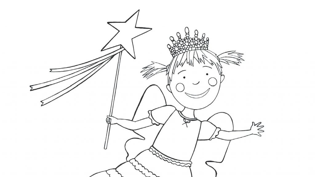 1024x576 Coloring Page Pinkalicious Coloring Pages Color Free Printable