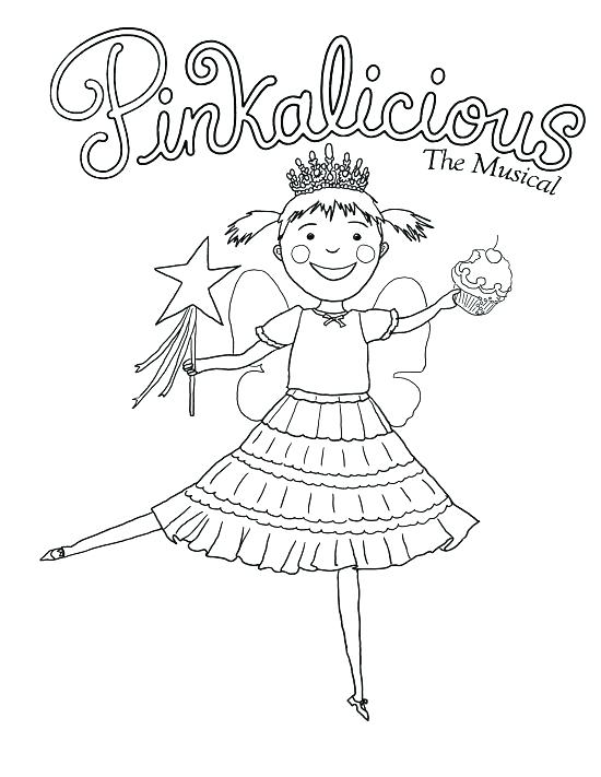 550x711 Pinkalicious Coloring Page Coloring Page Coloring Pages Images