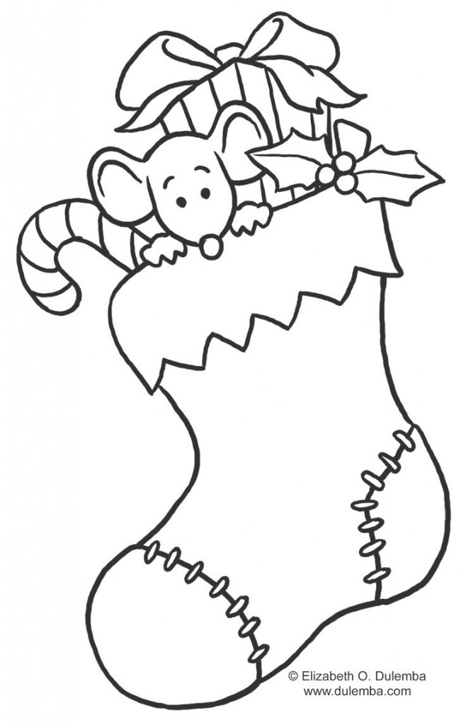 658x1024 Christmas Coloring Pages