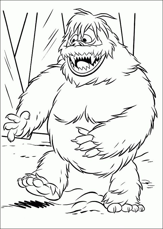 567x794 Coloring Pages Of Rudolph The Red Nosed Reindeer