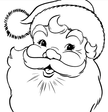 371x383 Top Free Christmas Coloring Pages And Printable