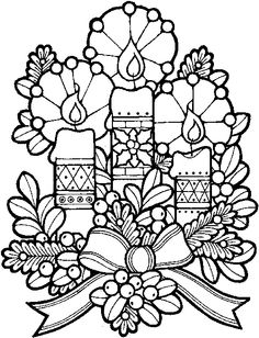 236x308 Adult Christmas Coloring Pages