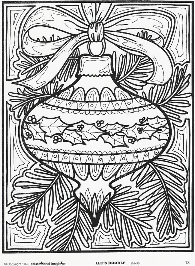 650x889 Adult Christmas Coloring Pages Amazing Best Christmas Coloring