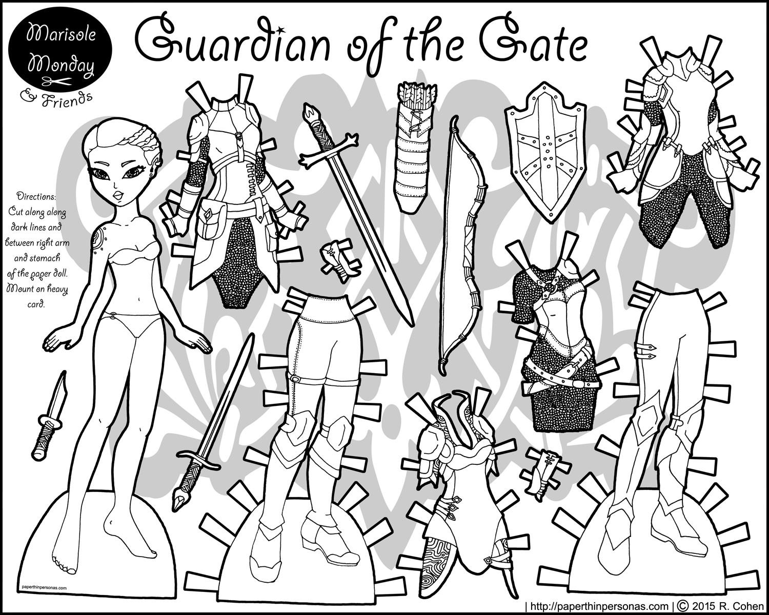 1500x1200 Ultimate Paper Dolls Print Outs Coloring Pages
