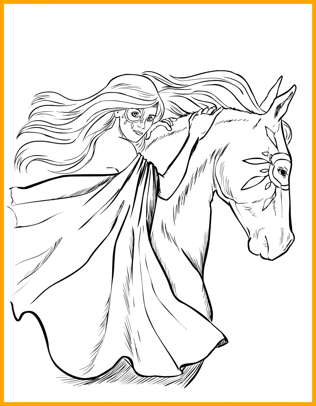 1307x1682 Awesome Horse Coloring Pages For Ebcs Aa Pict Of Stable Trend