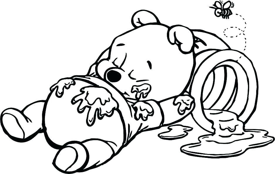 936x592 Piglet Coloring Page The Pooh Coloring Pages Free For Piglets