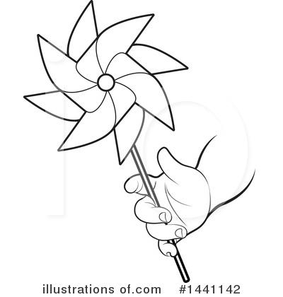 400x420 Pinwheel Clipart