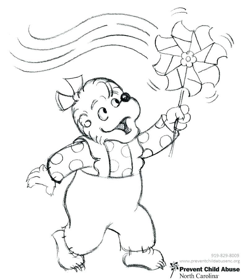 778x904 Berenstain Bears Coloring Page This Is Bears Coloring Pages Images