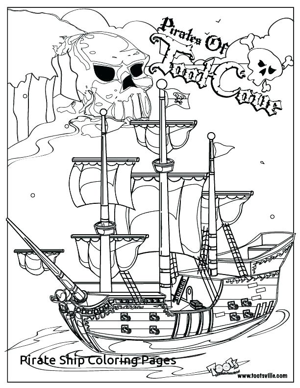 612x790 Pirate Ship Coloring Page Pirate Ship Coloring Page Big Pirate