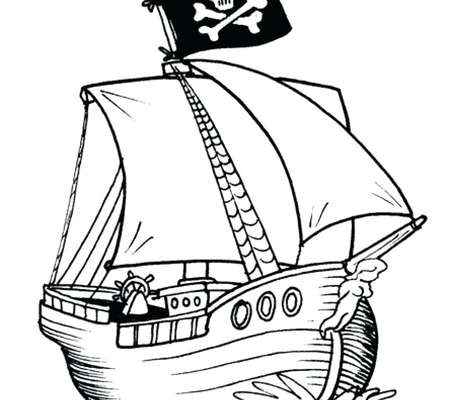 896x800 Free Printable Pirate Ship Coloring Pages Pirate Ship Coloring